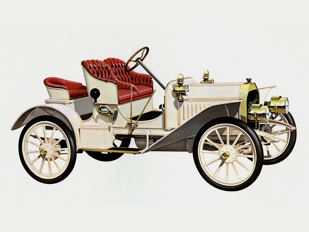 Car History - Buick (Part 1: 1900-1915)